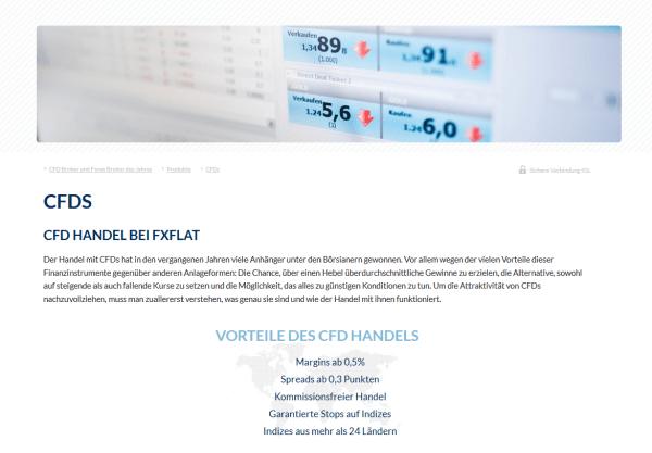 Infos zum CFD-Handel bei FXFlat