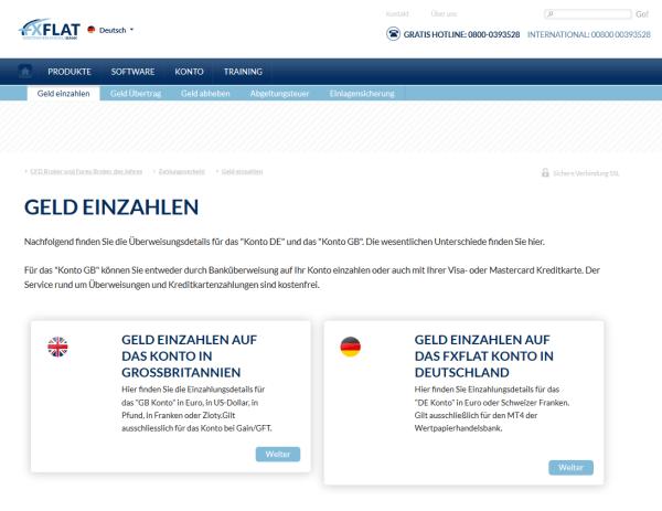 Britisches oder deutsches Handelskonto?