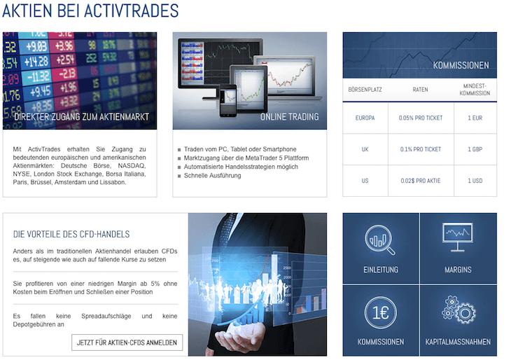 activetrades aktien cfd handel