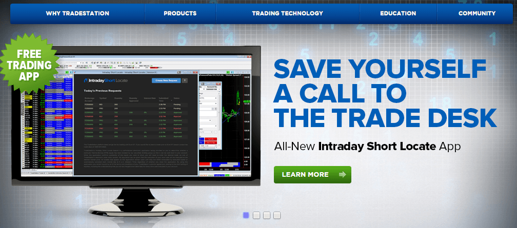 tradestation broker test