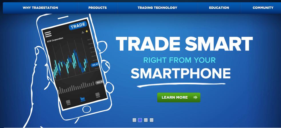 tradestation demo mobil