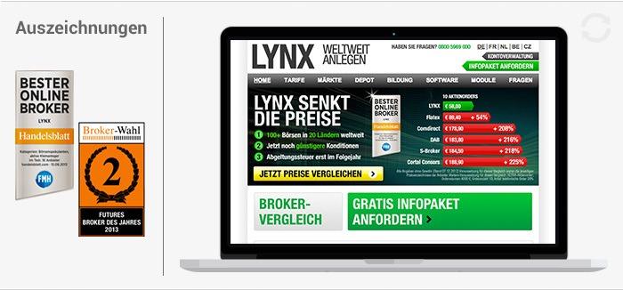 Lynx broker test study