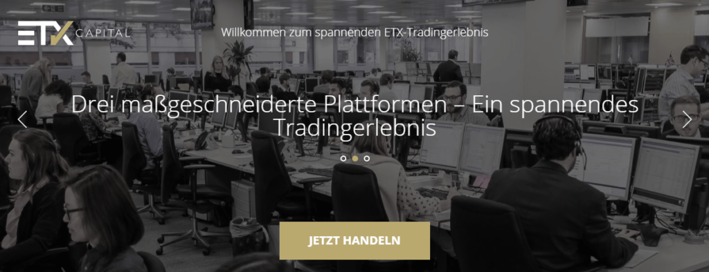 etx capital plattformen