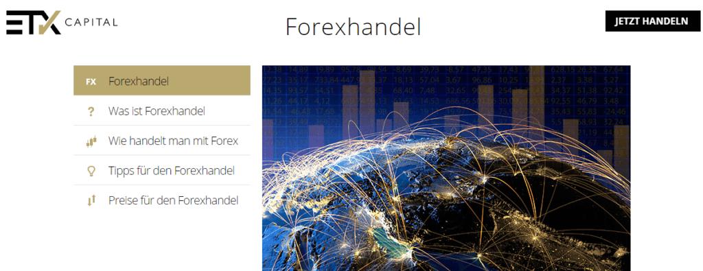 etx capital forex handel