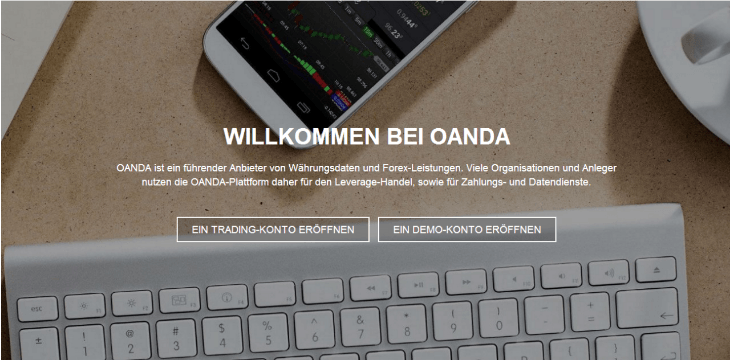 oanda broker test
