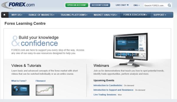 Bildungsbereich forex.com