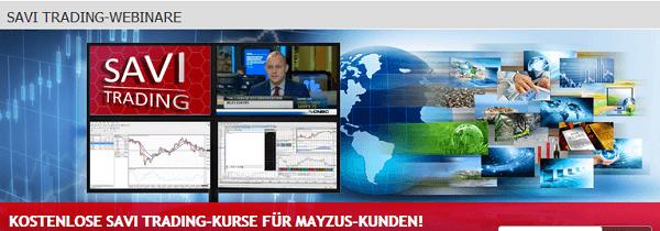 Savi Trading Webinare