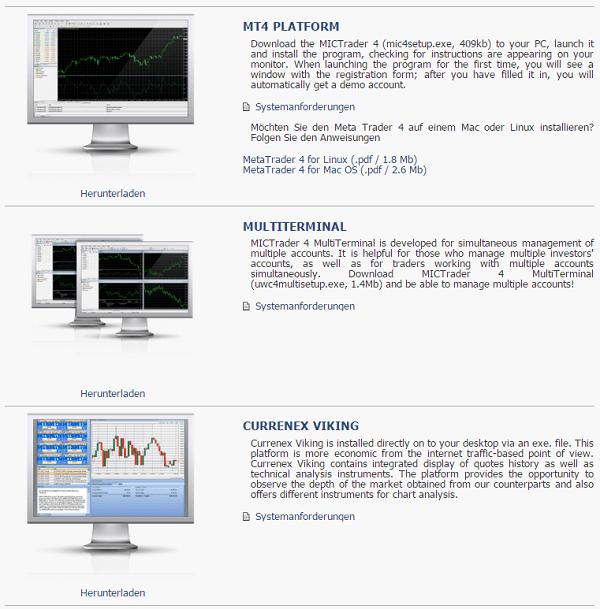 Die Homepage von Mayzus