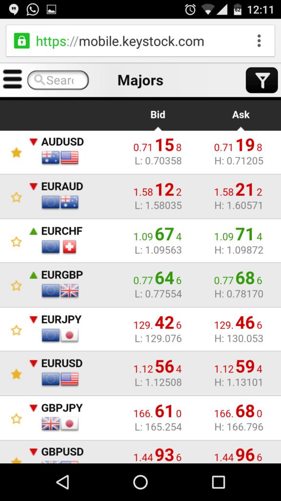 Mit der App haben Trader auch unterwegs alles im Blick.