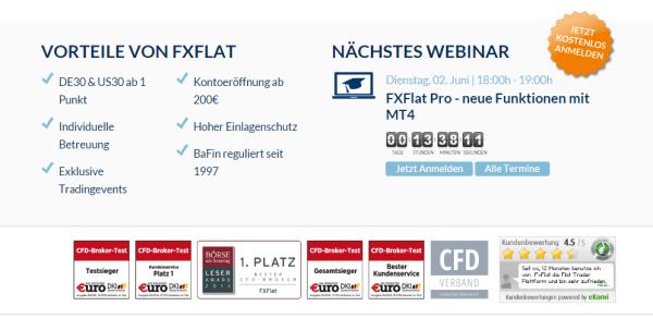 Webinar Broker FxFlat