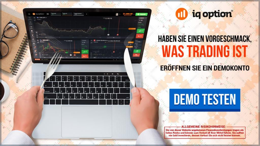 Ein digitale Optionen Demokonto stellt IQ Option zur Verfügung.