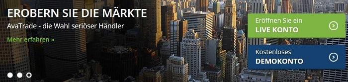 Erobern Sie die Märkte mit AvaTrade
