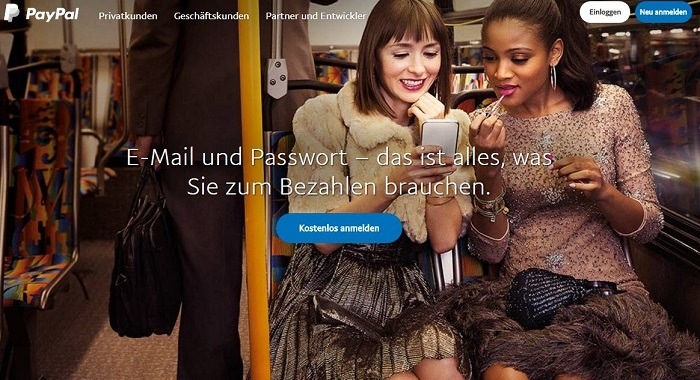 AvaTrade PayPal Einzahlung