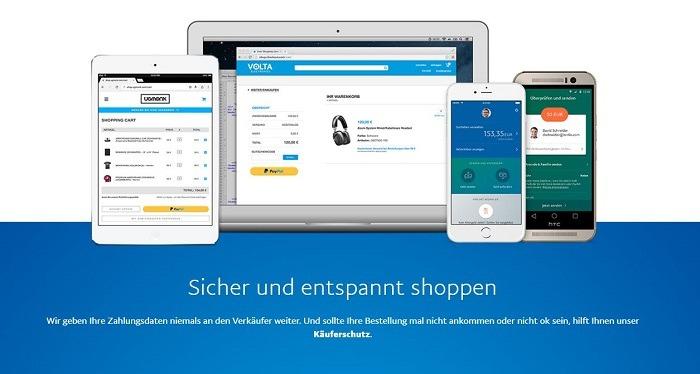 PayPal sichere Zahlungen