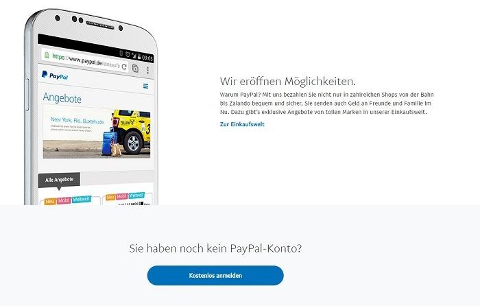 PayPal Gebühren für Online-Broker