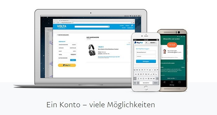 PayPal Kundenkonto