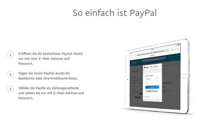 PayPal Bezahlen in Echtzeit