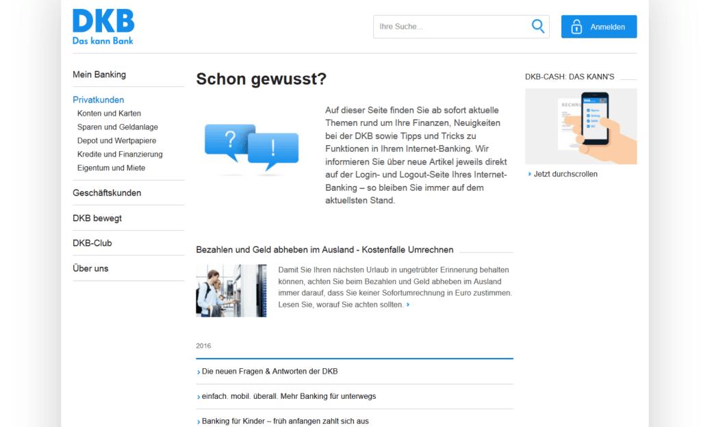 """News und Infos im Bereich """"Schon gewusst?"""""""