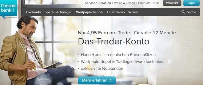 Consorsbank Depotwechsel Prämie