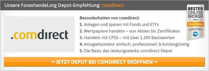 Comdirect Depotkosten