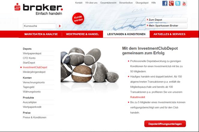 Sparkassen Broker Depot Erfahrungen