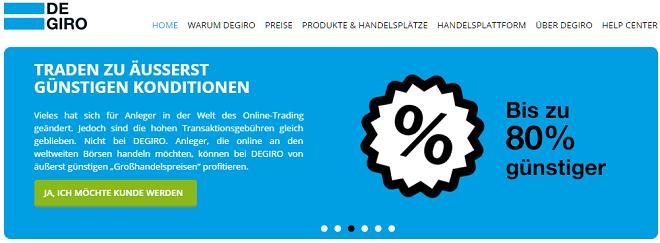 Degiro Aktienbroker
