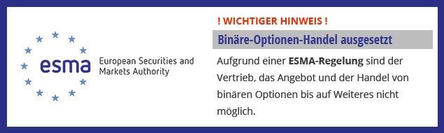 IG binäre Optionen nicht mehr vorhanden