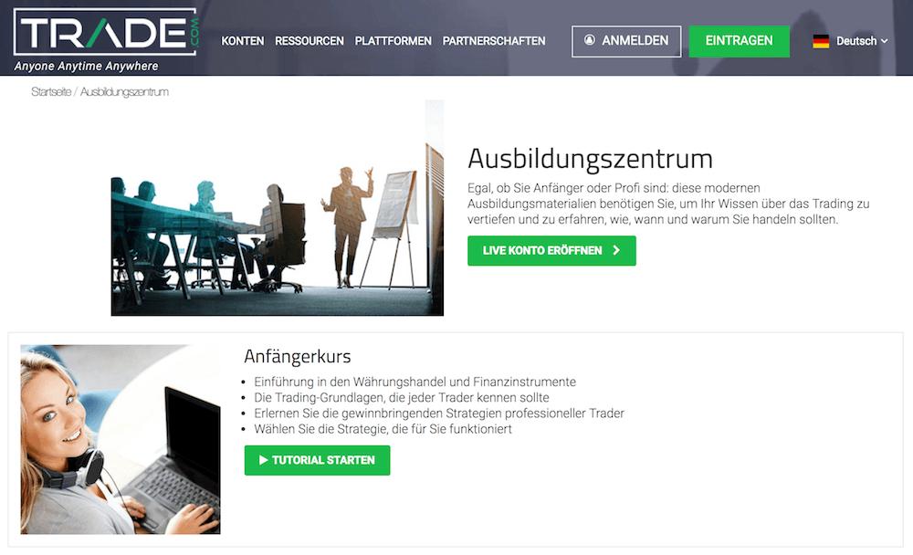 Trade.com Ausbildungszentrum