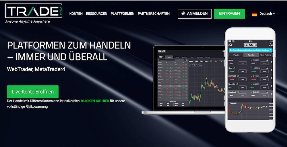 Trade.com mobile