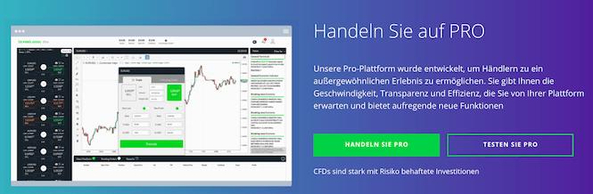 invest.com Pro-Handelsplattform