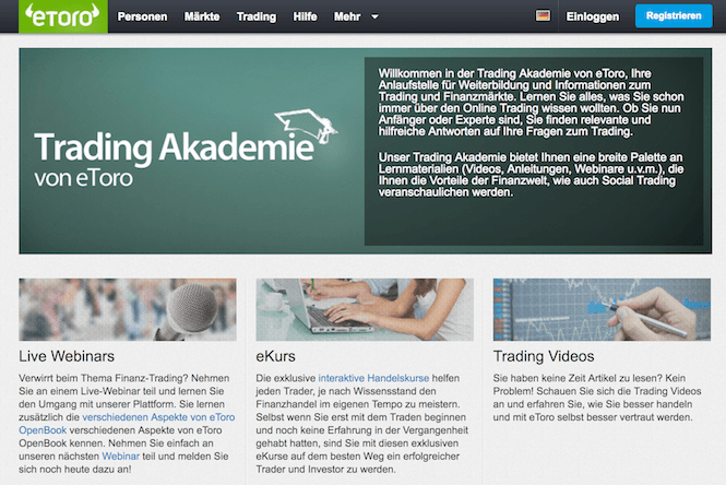eToro Ripple Trading Akademie