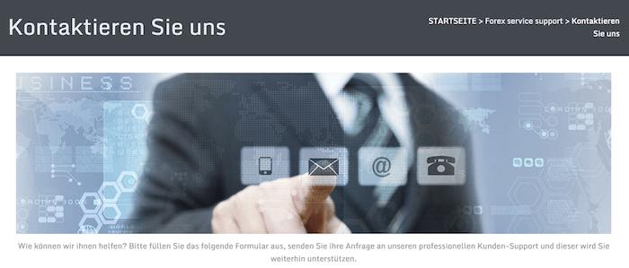 FXGiants Kundenservice