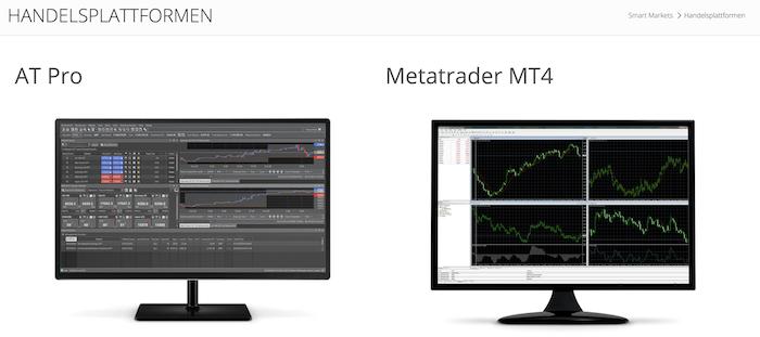 Smart Markets Handelsplattformen