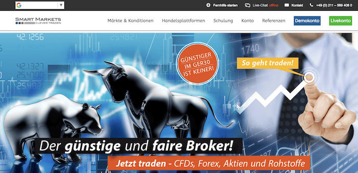 Smart Markets Homepage