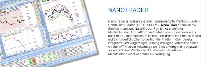 WH SelfInvest Handelsplattform