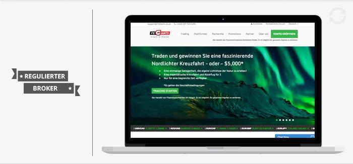 FXGiants Erfahrungen Forexhandel.org