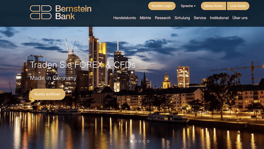 Bernstein Bank Homepage