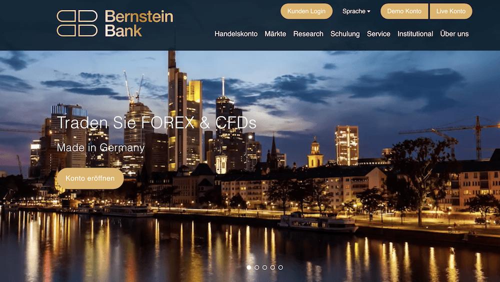 Bernstein Bank Homepage