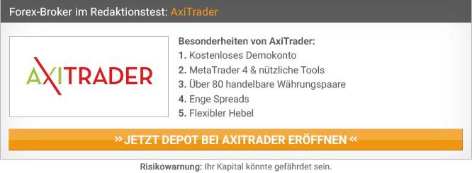 AxiTrader Demo Account