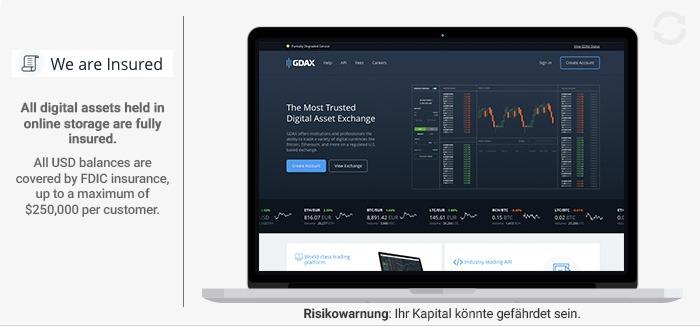 GDAX Erfahrungen von Forexhandel.org