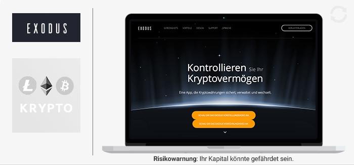 Exodus Wallet Erfahrungen von Forexhandel.org