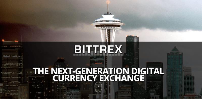 Bittrex Webseite