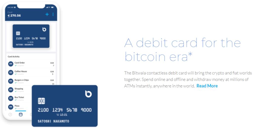 Bitwala Krypto Kreditkarte