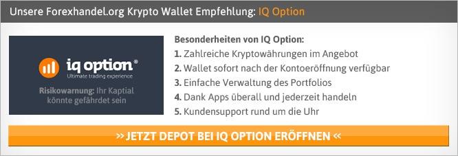Krypto Wallet Anbieter Vergleich von Forexhandel.org