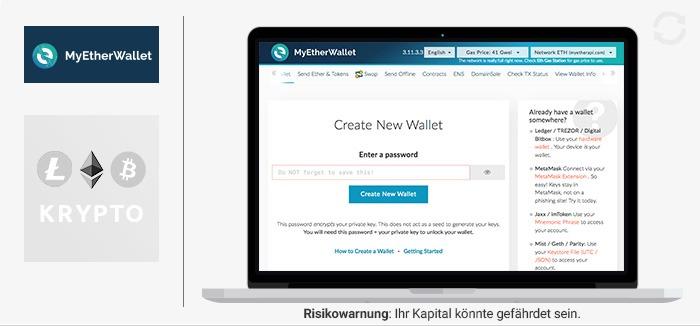 MyEtherWallet Erfahrungen von Brokervergleich.net