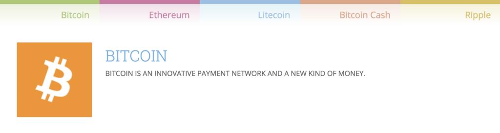 Bei ccTrader sind verschiedene virtuelle Währungen handelbar