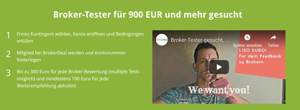 BrokerDeal Aktion Video