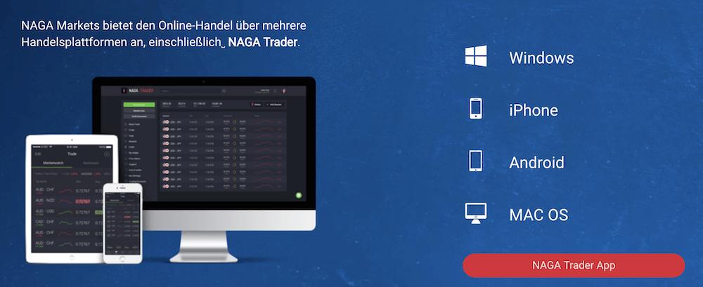 Naga Markets Handelsplattformen
