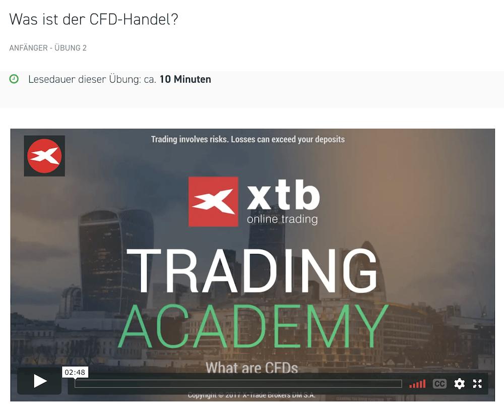 Die XTB Trading Akademie ist vor allem für Einsteiger perfekt geeignet, um die Basics kennen zu lernen