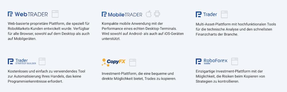 R Trader Plattform
